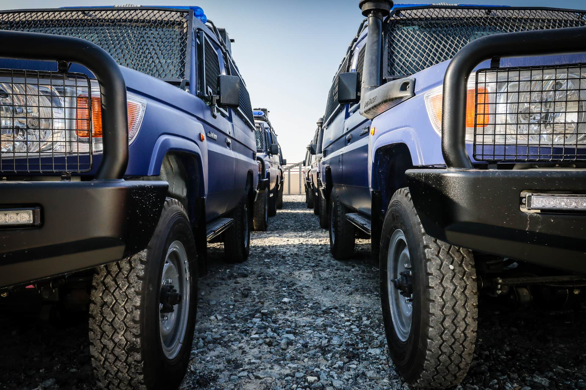 Specialists in new and topicalised vehicle export to Africa - Autoredo