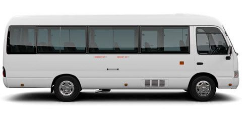 car Toyota Coaster