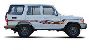 Toyota Land Cruiser VDJ76 Hardtop 4.5L