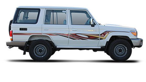 Vehicle Toyota Land Cruiser VDJ76