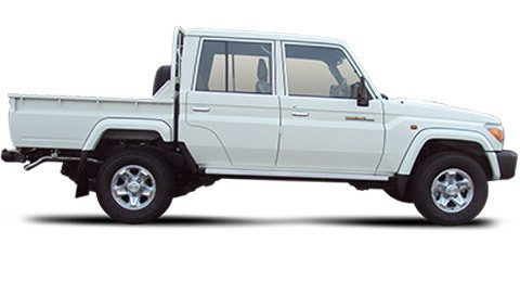 Tropicalisé Pick-up Toyota Land Cruiser VDJ79