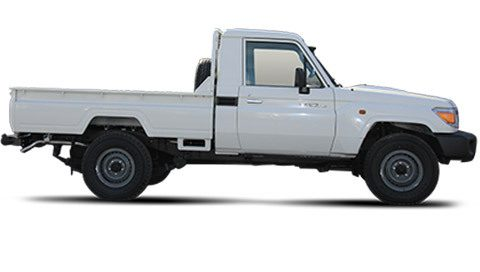 Import Pick-up Toyota Land Cruiser VDJ79