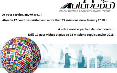Autoredo at your service, anywhere !