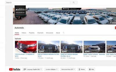 Join Autoredo on Youtube ! Rejoignez Autoredo sur Youtube !