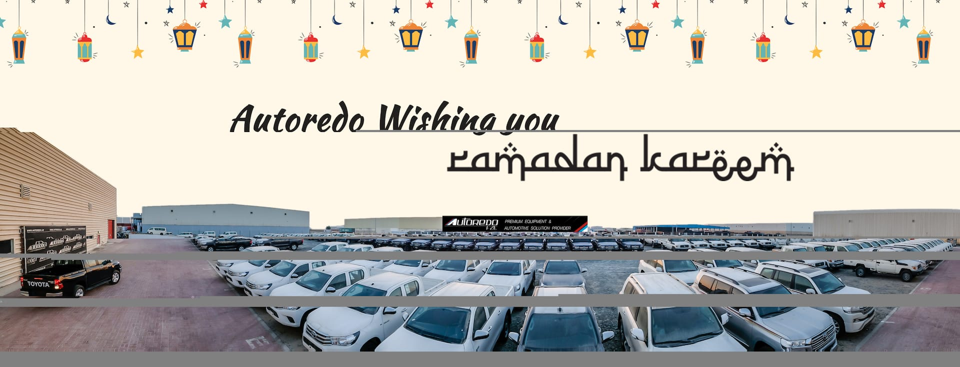 Autoredo wishing you Ramadan Kareem