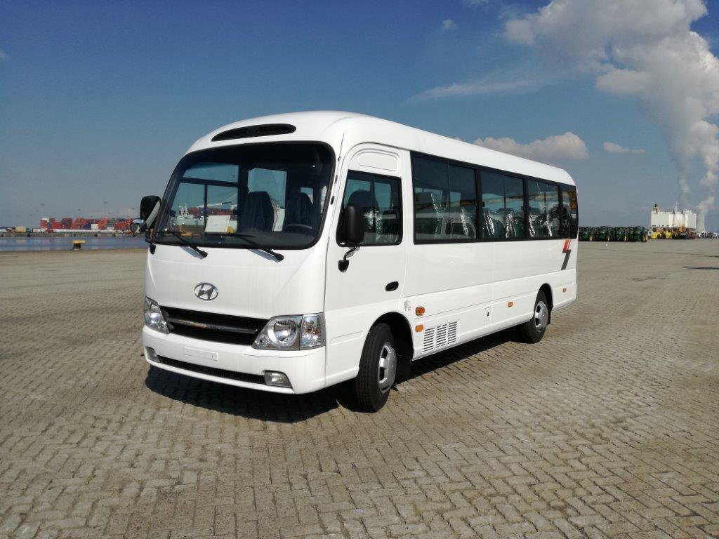 hyundai county bus transport de personne export africa autoredo. Black Bedroom Furniture Sets. Home Design Ideas