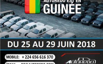 Autoredo est en Guinée !