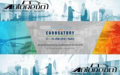 Autoredo sera à Eurosatory ! Autoredo will be at Eurosatory !
