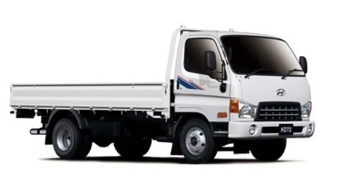 Tropicalised New Utility Vehicle Hyundai HD72