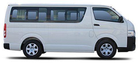 Antwerp Bus & Minibus Toyota Hiace