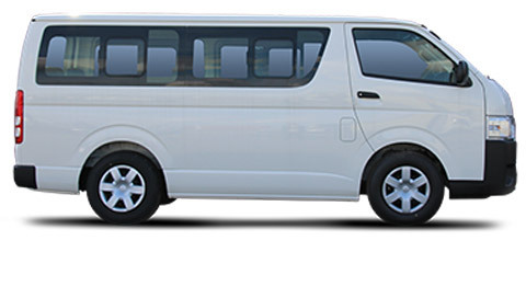 toyota hiace standard roof 2wd 2 5l turbo diesel 13 seats 16 seats. Black Bedroom Furniture Sets. Home Design Ideas