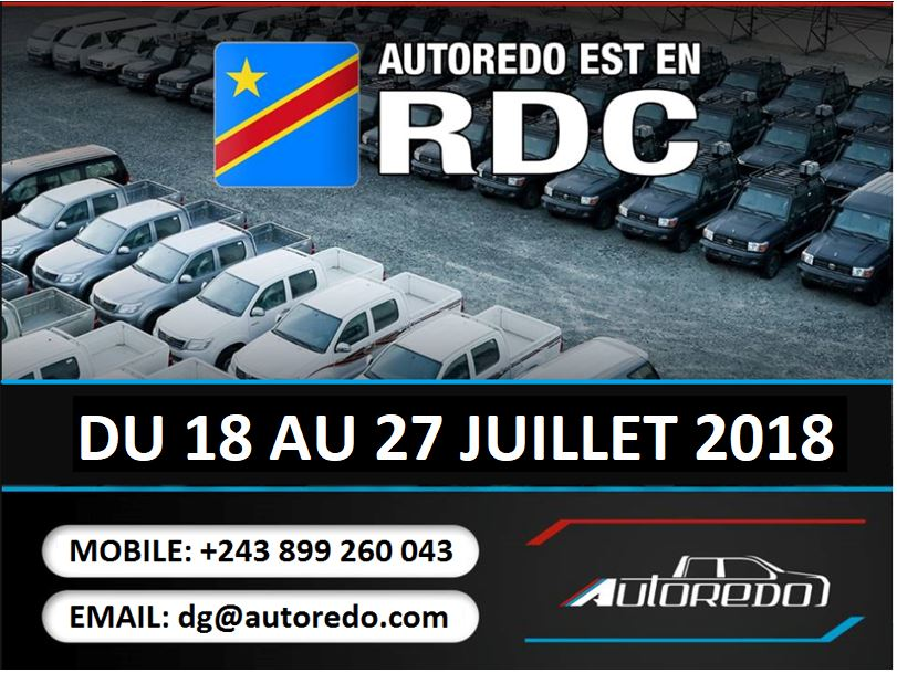 AUTOREDO est en RDC !